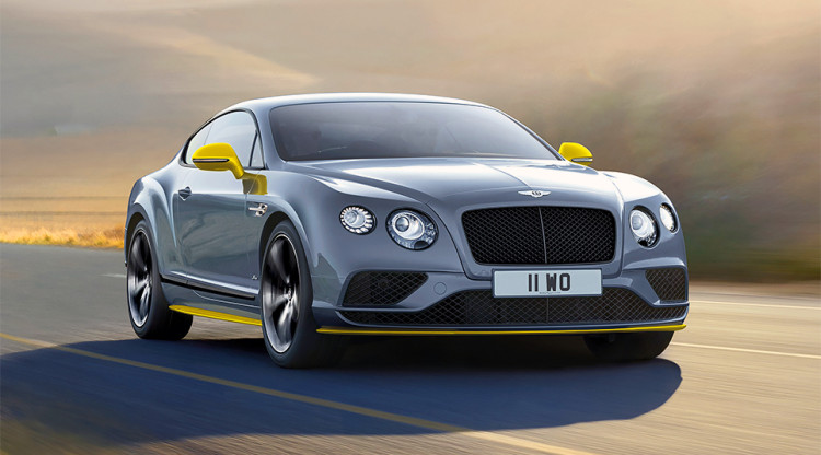 Как сделать Bentley еще более эксклюзивным? Выпустить его в ограниченной версии, которая будет отличаться каким-то особым сочетанием цветом кузова и обвеса. Как называется этот Continental GT?