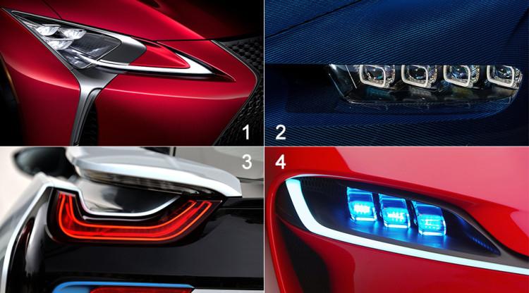 Фантазия автомобильных дизайнеров все меньше встречает преград на своем пути. На каком фото оптика принадлежит все-таки концепту?
