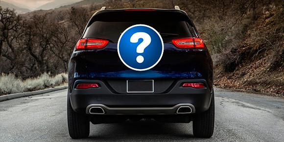 Теперь о более массовой продукции. Автомобили этой марки спереди легко узнаваемы, но вот при взгляде сзади дела обстоят уже немного сложнее. SUV какого бренда на картинке?