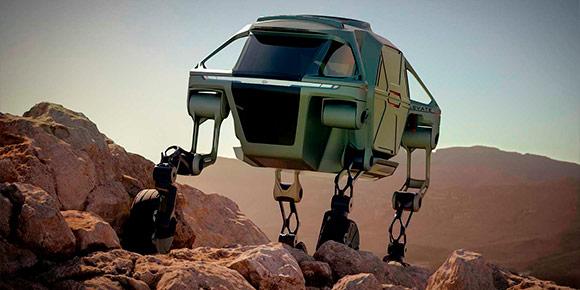 Шагающие автомобили для тяжелого бездорожья – шутка или реальность ближайшего будущего?