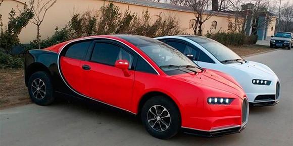 Хотите Bugatti Chiron всего за 5 тыс. долларов? Пожалуйста! Фирма Shandong Qilu Fengde предлагает как раз такой автомобиль. Впрочем, он будет не только несоизмеримо дешевле, но и неприлично слабее 1500-сильного оригинала. Во сколько раз?