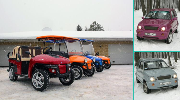 Еще один неудачный проект народного автомобиля - тульский «Мишка», а квадрицикл «Гердакар» все еще производится на заводе Камышмаш. Но у этих внешне непохожих транспортных средств есть что-то общее: