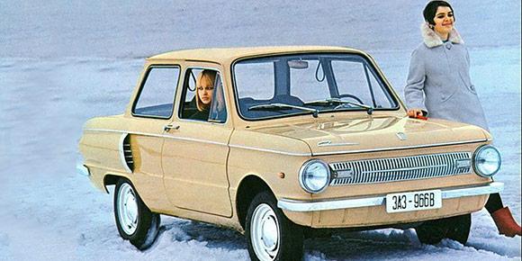 Догадаетесь, какие главные качества автомобиля были перечислены на рекламном плакате ЗАЗ-966В для французского рынка?