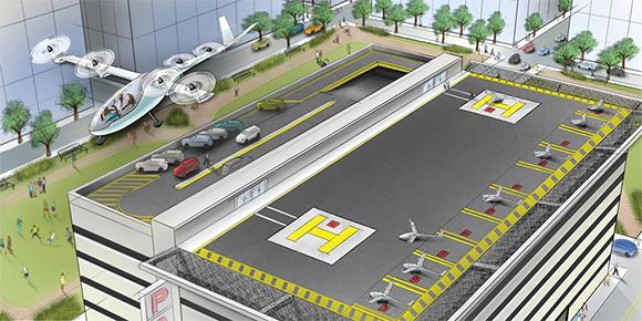 В 2020 г. представить летающие такси планирует Uber. Директор отдела производства этой компании Джефф Холден считает, что система работы такого транспорта должна быть максимально простой. Как он описывает принцип ее работы?