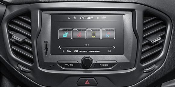 «В вариантном исполнении автомобиль комплектуется радиоприемником и проигрывателем звуковых файлов (далее РПиПЗФ) или оборудованием мультимедийным навигационным (далее ОММН). РПиПЗФ и ОММН рассчитаны на подключение к бортовой сети автомобиля 12 В с минусом на корпусе». О какой машине идет речь?