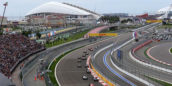 Начнем с простого. Сколько кругов насчитывает дистанция Гран-при России?