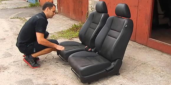 Еще один обязательный атрибут советского автомобиля – чехлы на сиденьях, предохранявшие кресла от истирания. А самые обеспеченные обшивали салон настоящей кожей. Сколько стоила такая услуга?