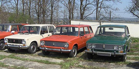 Какой цвет автомобиля ценили меньше всего в центральной полосе России?