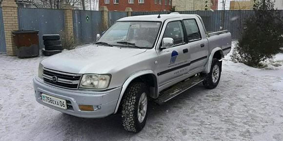 Первый китайский автомобиль в России начали официально продавать в 2004 г. – это был пикап марки Tianye. Он назывался по-военному просто и в то же время необычно. Догадаетесь, как?