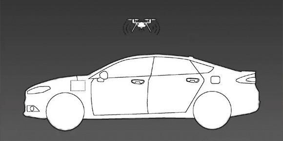 На автомобилях Ford в будущем может появиться нестандартная опция в виде штатного квадрокоптера. Какие функции будет выполнять устройство?