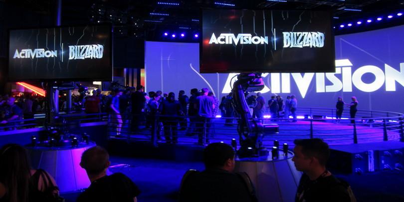 стенд Activision Blizzard на игровой выставке E3