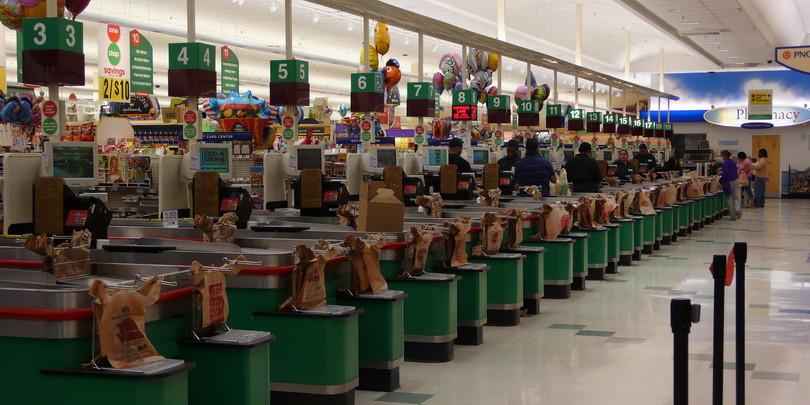 Магазин в США