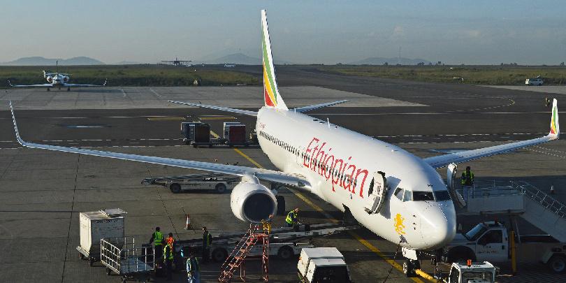 Boeing 737 «Эфиопских авиалиний»