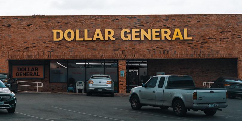 Отремонтированный магазин Dollar General с новым дизайном