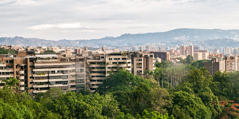 Каракас, столица Венесуэлы