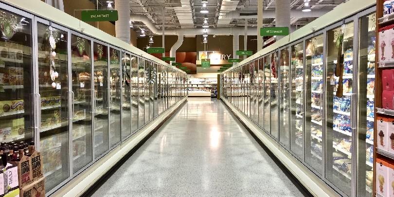 Пустующий супермаркет