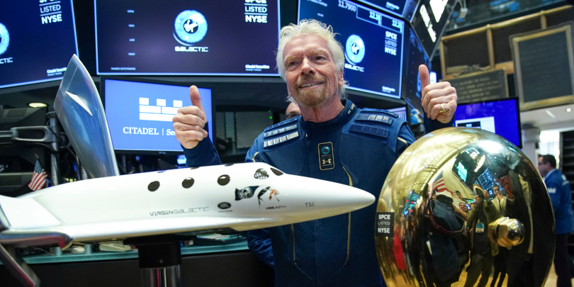 Ричард Брэнсон, основатель Virgin Galactic