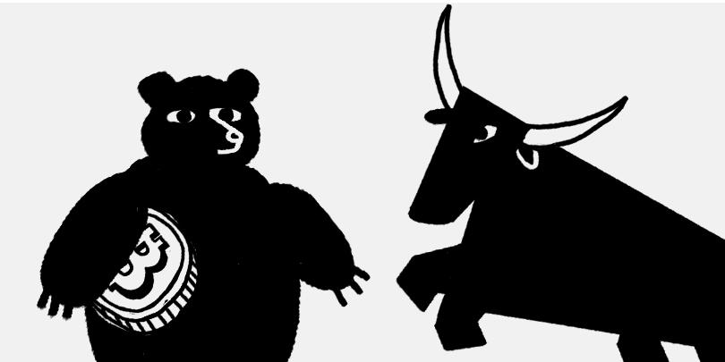 Поздняя стадия бычьего рынка. Когда закончится коррекция биткоина