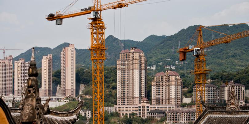 Строительные работы в Китае