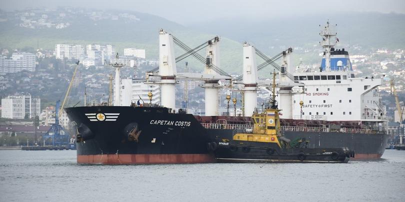 Фото:Новороссийский морской торговый порт