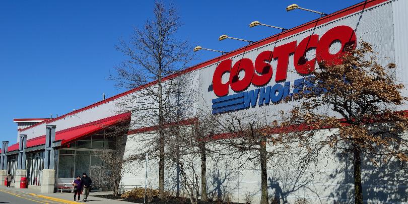 Магазин Costco Wholesale в Канаде