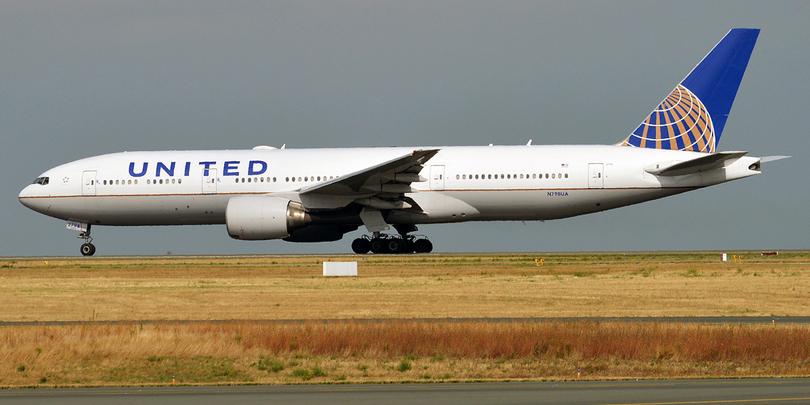 Boeing авиакомпании United Airlines