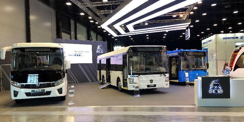 Автобусы, выпущенные на заводах группы ГАЗ