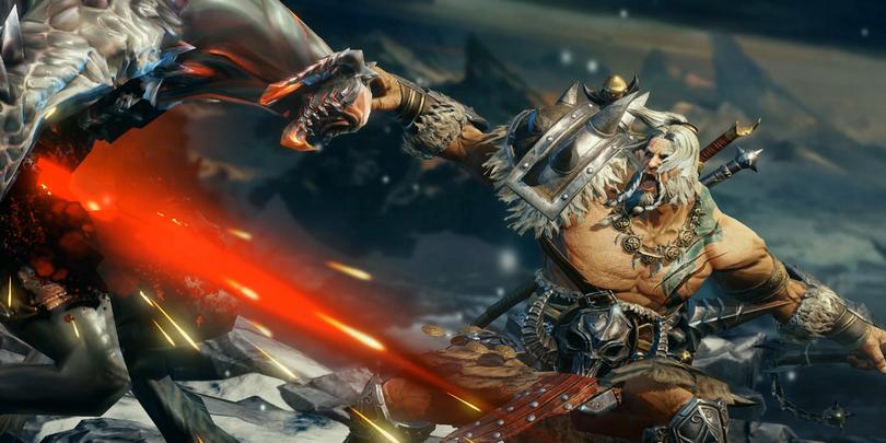 Скриншот из компьютерной игры Diablo