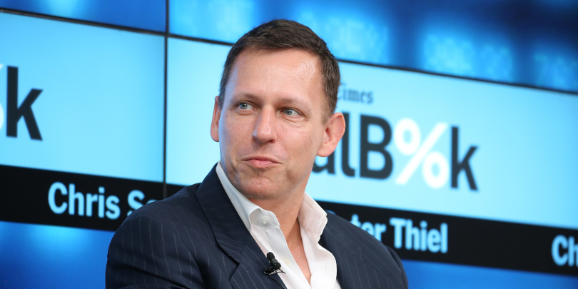 Основатель PayPal и первый инвестор в Facebook Питер Тиль