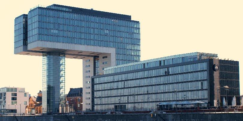 Здание компании Electronic Arts в Кёльне
