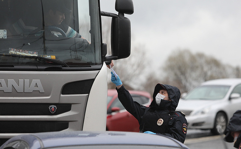 Для водителей грузовиков придумали правила самоизоляции