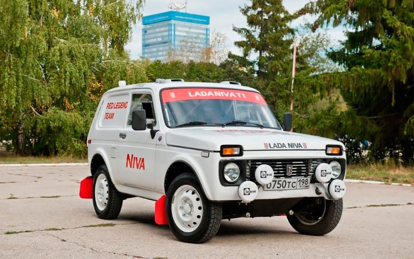 Особая Lada Niva для «Дакара». Первые фото