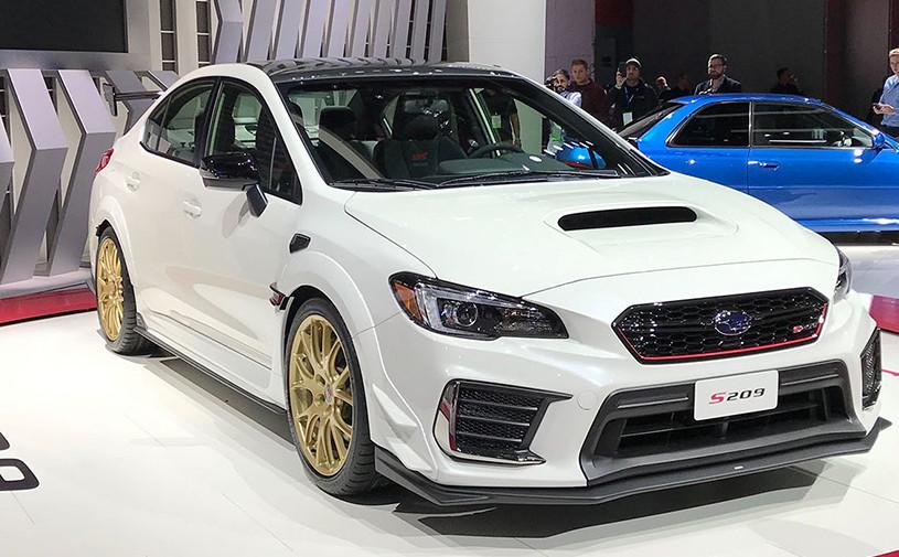 В Детройте дебютировала мощнейшая Subaru в истории
