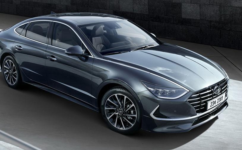 Hyundai представил новую Sonata