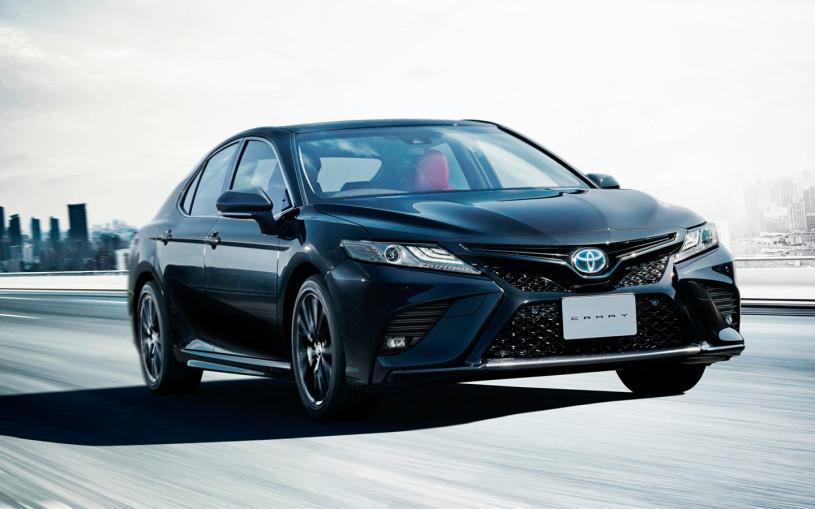 Toyota отметила 40-летие седана Camry особой версией