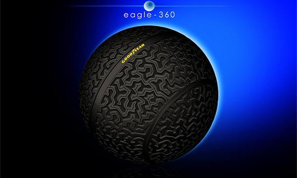 Goodyear представила концепт шин для беспилотников
