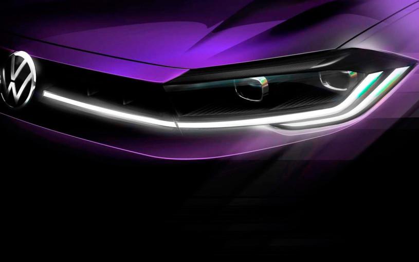 Volkswagen анонсировал премьеру обновленного Polo. Первое фото