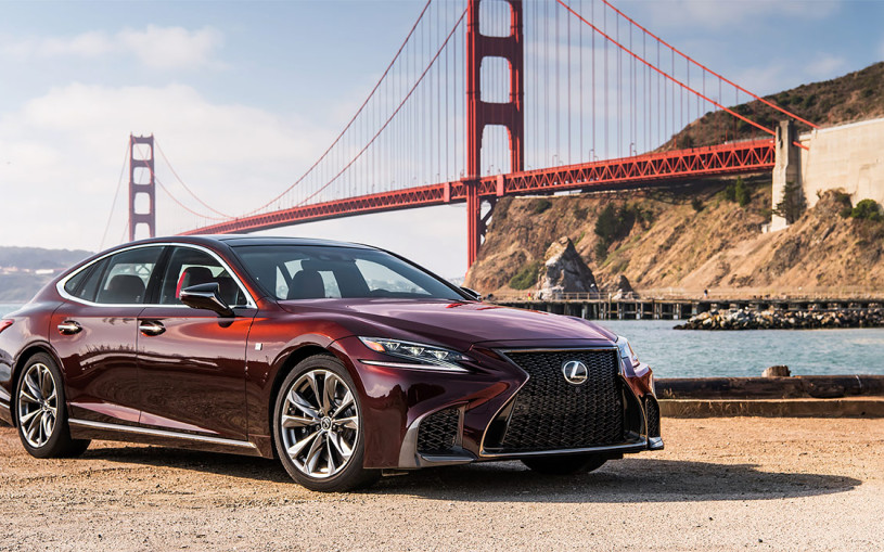 Видео: первый тест нового Lexus LS