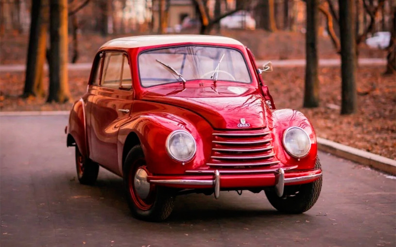 Немецкий седан DKW 1954 года продают по цене новой Skoda Octavia. Фото