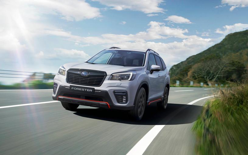Subaru назвал российские цены на спортивный Forester