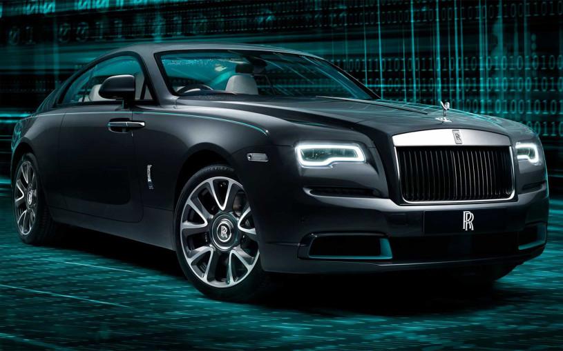 Rolls-Royce зашифровал в купе Wraith загадочный код