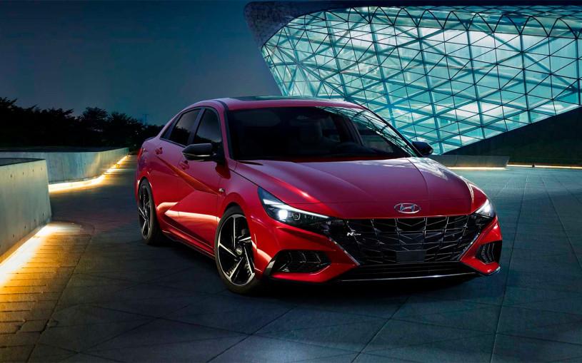 Hyundai представил спортивную версию новой Elantra