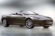 Aston Martin DB9 Volante: мировая премьера в Детройте