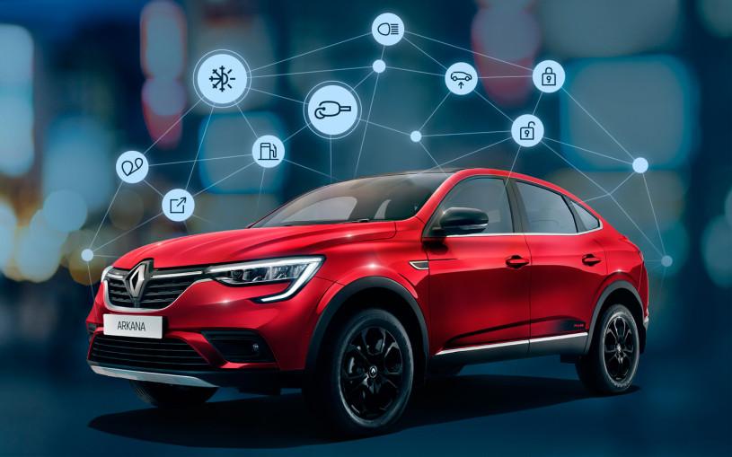 Российские автомобили Renault подключили к смартфону