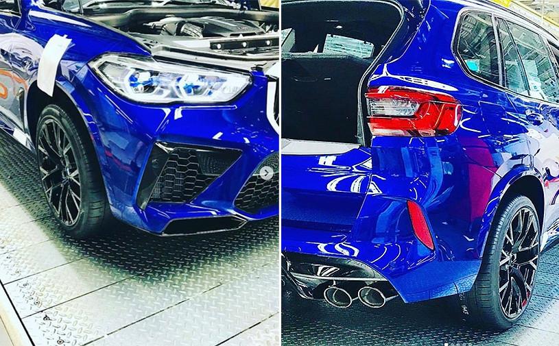 Новые BMW X5 M и X6 Mзамечены без камуфляжа