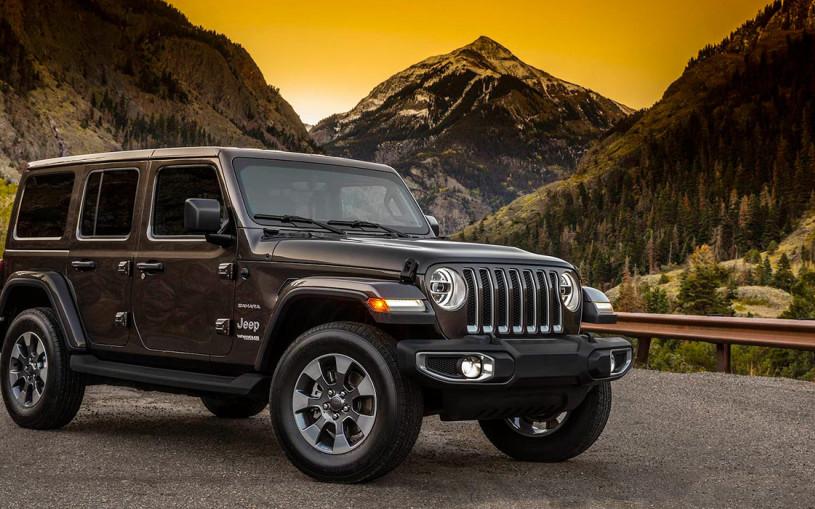 Jeep представил внедорожник Wrangler нового поколения