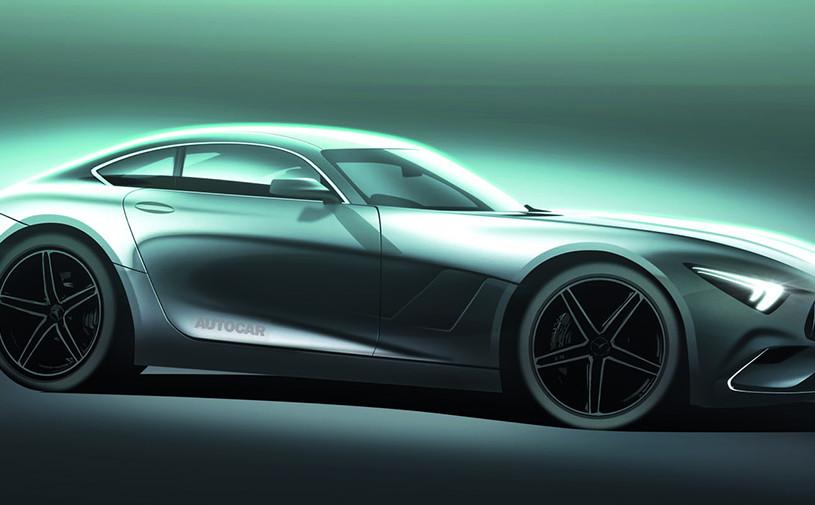 Следующий Mercedes-AMG GT станет полноприводным гибридом