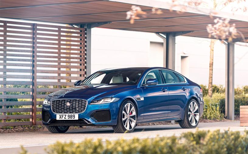 Jaguar объявил рублевые цены на обновленный XF