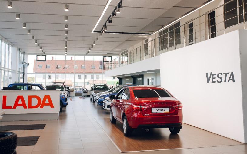Продажи Lada в Европе в 2021 году упали на 35%