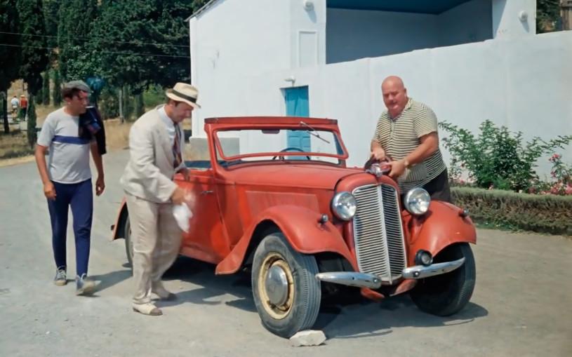 Игра: угадываем машины из советских фильмов